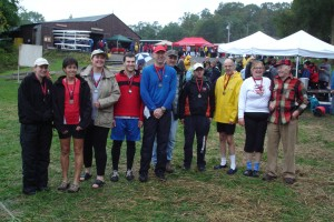 Head of the Mohawk 2011 Masters Mixed 8+ Gold