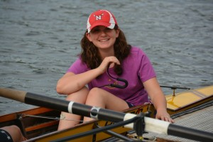 """The coxswain """"drives"""" the boat"""